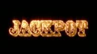Jackpot Glittering + Alpha Matte (Loop)