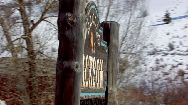 Jackson Hole Welcome Sign
