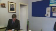 Jacob ReesMogg 'completely opposed to abortion' FILE Somerset North East Somerset working at desk in his constituency office photograph of Prime...