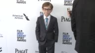Jacob Tremblay at the 2016 Film Independent Spirit Awards Arrivals on February 27 2016 in Santa Monica California