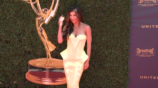 Jacqueline MacInnes Wood at the 44th Annual Daytime Emmy Awards at Pasadena Civic Auditorium on April 30 2017 in Pasadena California