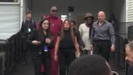 Jada Pinkett Smith and Andre Leon Talley at Lincoln Center outside MercedesBenz Fashion Week Spring 2015 on September 08 2014 in New York City