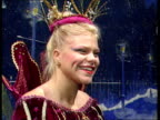 Jade Goody appears in pantomime Jade Goody interview SOT can't stand tomato ketchup Jade Goody at photocall Unidentifed pantomime producer interivew...