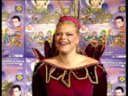 Jade Goody appears in pantomime Jade Goody photocall