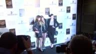 Jade Jagger Alice Dellal and Pixe Geldof at the British Fashion Awards arrivals at London