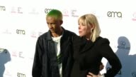 Jaden Smith and Debbie Levin at the 27th Annual Environmental Media Association Awards at Barker Hangar on September 23 2017 in Santa Monica...