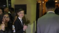 INTERVIEW Jaeden Lieberher gives his opinion of how the new IT movie was outside the IT Premiere at TCL Chinese Theatre in Hollywood in Celebrity...