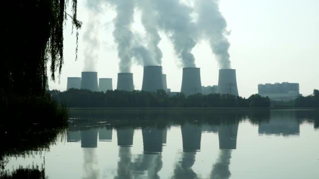 Jaenschwalde Coal Power Plant Tilt Up (4K/UHD to HD)