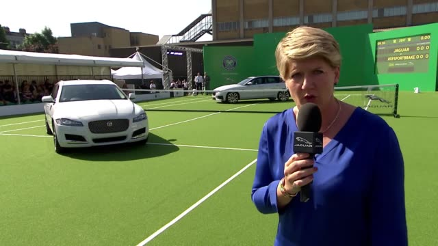 Jaguar's dynamic new estate has been revealed by world tennis number one Andy Murray The twotime Wimbledon winner of the Championships Wimbledon...