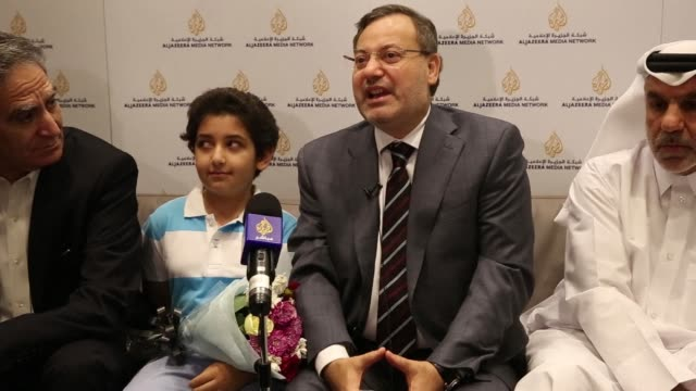 Jailed Al Jazeera journalist Ahmed Mansour arrives back in Qatar blaming his controversial two day detention in Germany on pressure from the Egyptian...
