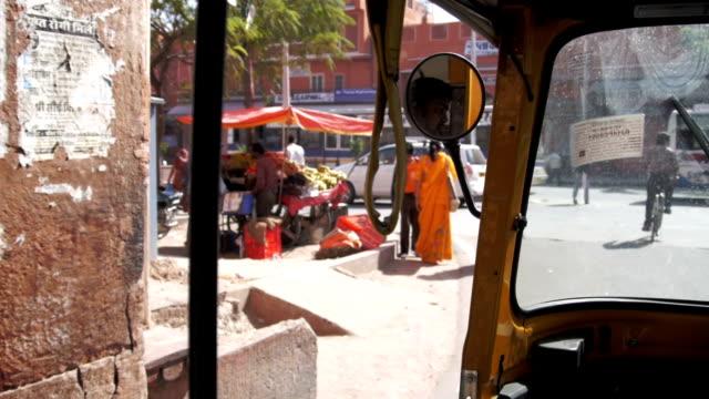 Jaipur India from a tuktuk