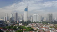 WS TL Jakarta cityscape Wisma 46 BNI building and business district cityscape