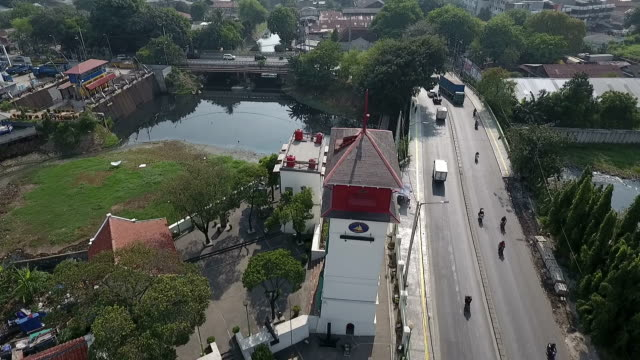 Jakarta's Old Harbormaster Tower Aerial