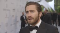 INTERVIEW Jake Gyllenhaal on Cannes Film Festival supporting the event glamour helping raise money at amfAR 22nd Cinema Against AIDS Gala Presented...