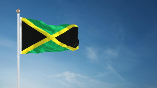 4K Jamaica Flag - Loopable