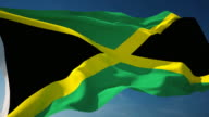 4K Jamaica Flag - Loopable