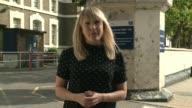 Jamal Mahmoud murder inside Pentonville Prison Reporter to camera SOT