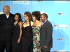James Avery Tatyana Ali Daphne Reid Karyn Parsons and Alfonso Ribeiro at the 2005 BET Awards press room at the Kodak Theatre in Hollywood California...