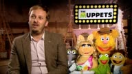 James Bobin on Kermit singing Rainbow Connection The Muppets Interviews at The Mayfair Hotel on January 27 2012 in London England