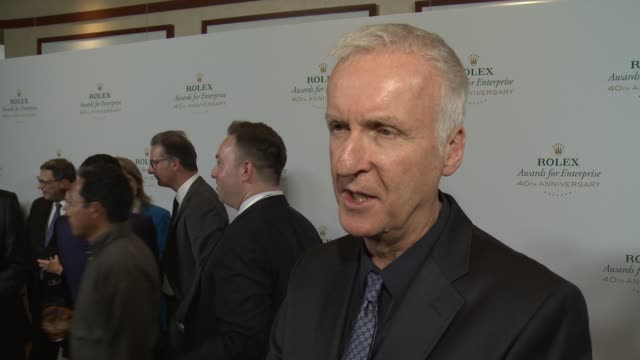 INTERVIEW James Cameron on why innovation in science the environment exploration and cultural heritage is important why environmental issues are...