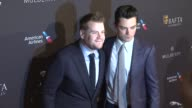 James Corden and Dominic Cooper at the 2015 BAFTA Los Angeles Tea Party at The Four Seasons Hotel on January 10 2015 in Beverly Hills California
