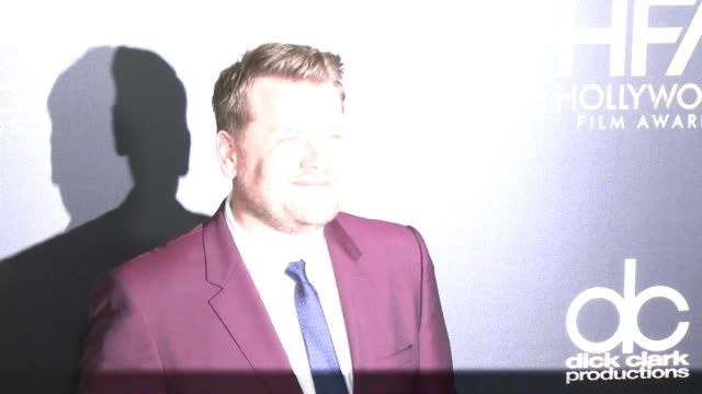 James Corden at 2015 Hollywood Film Awards in Los Angeles CA