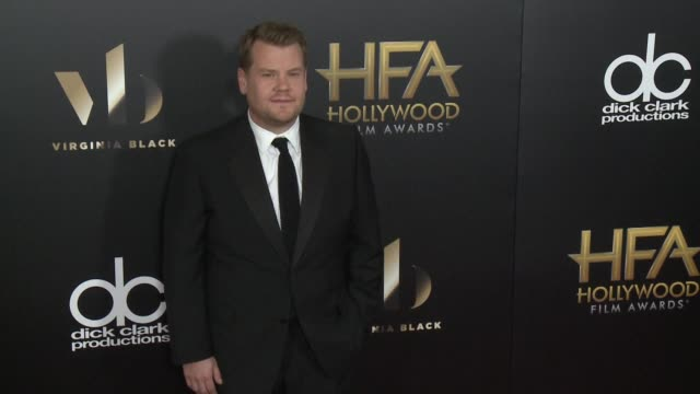 James Corden at 20th Annual Hollywood Film Awards at The Beverly Hilton Hotel on November 06 2016 in Beverly Hills California