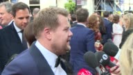 James Corden at House of Fraser British Academy Television Awards