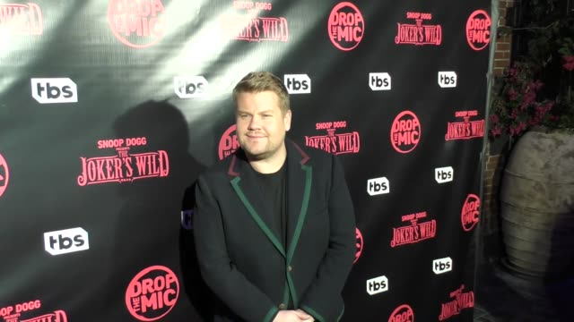 James Corden at TBS' Drop the Mic and The Joker's Wild Premiere Party at Dream Hotel on October 11 2017 in Hollywood California