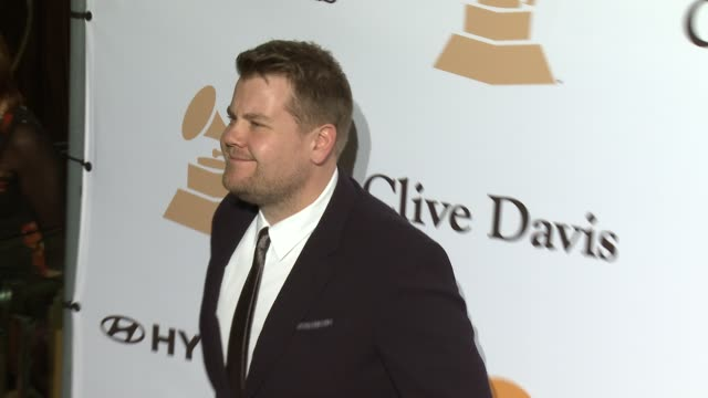James Corden at the 2016 PreGRAMMY Gala And Salute to Industry Icons Honoring Irving Azoff at The Beverly Hilton Hotel on February 14 2016 in Beverly...