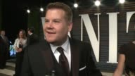 INTERVIEW James Corden at the 2016 Vanity Fair Oscar Party Hosted By Graydon Carter at Wallis Annenberg Center for the Performing Arts on February 28...
