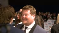 James Corden at the National TV Awards 2010 at London England