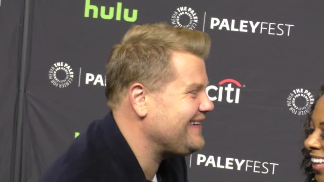 James Corden at the PaleyFest An Evening of Laughs with James Corden The Late Late Show on March 22 2017 in Hollywood California