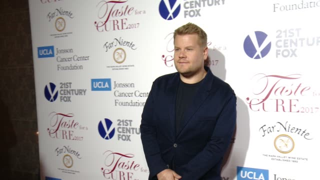 """James Corden at UCLA Jonsson Cancer Center Foundation Hosts 22nd Annual """"Taste for a Cure"""" Event Honoring Yael and Scooter Braun in Los Angeles CA"""