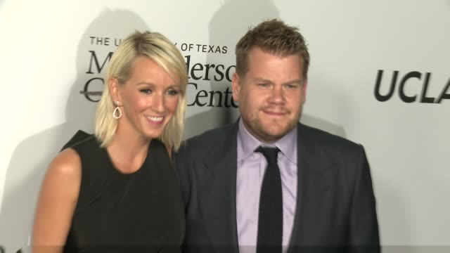James Corden Julia Carey at Sean Parker And The Parker Foundation Celebrate The Launch Of The Parker Institute For Cancer Immunotherapy on April 13...