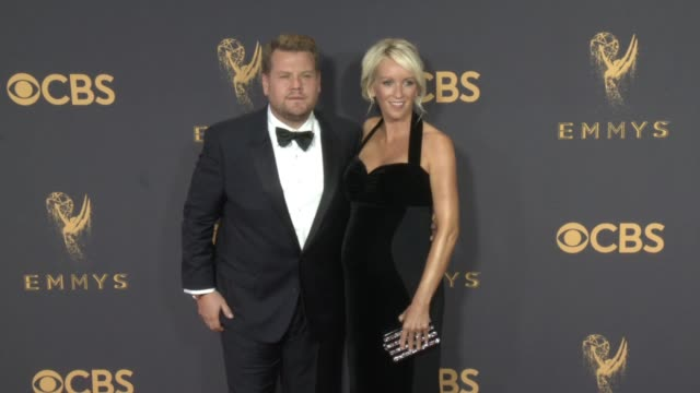 James Corden Julia Carey at the 69th Annual Primetime Emmy Awards at Microsoft Theater on September 17 2017 in Los Angeles California