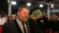 James Corden on Gavin and Stacey at the National TV Awards 2010 at London England