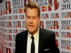 James Corden on hosting the Brit Awards the nominees and more at the Brit Awards 2011 at London England