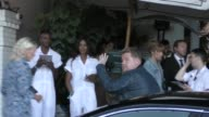 James Corden outside Chateau Marmont Hotel in West Hollywood in Celebrity Sightings in Los Angeles