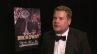 James Corden talks about the thrill of winning and working in NY at 66th Annual Tony Awards Press Room at The Beacon Theatre on June 10 2012 in New...