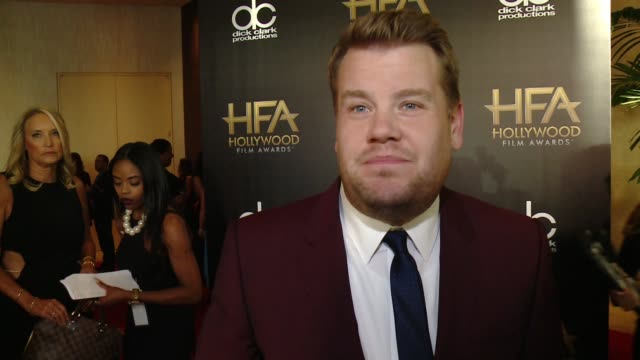 INTERVIEW James Cordon on his favorite movie of the year at 2015 Hollywood Film Awards in Los Angeles CA