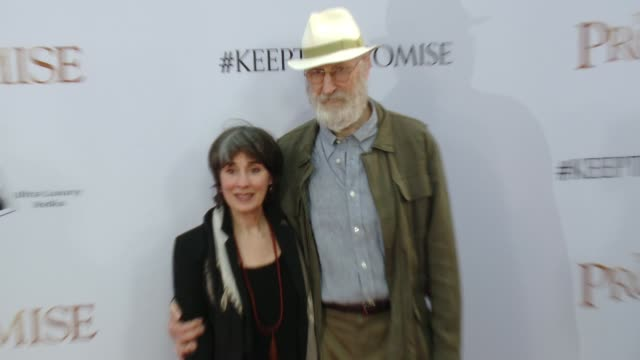 James Cromwell and Anna Stuart at the 'The Promise' Los Angeles Premiere at TCL Chinese Theatre on April 12 2017 in Hollywood California