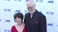 James Cromwell Anna Stuart at the PETA's 35th Anniversary Party at Hollywood Palladium in Hollywood at Celebrity Sightings in Los Angeles on...