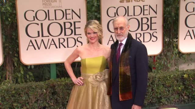 James Cromwell at 69th Annual Golden Globe Awards Arrivals on January 15 2012 in Beverly Hills California
