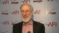 James Cromwell on AFI and the luncheon how AFI celebrates filmmakers and artists and on working on a silent black and white film at AFI Awards 2012...