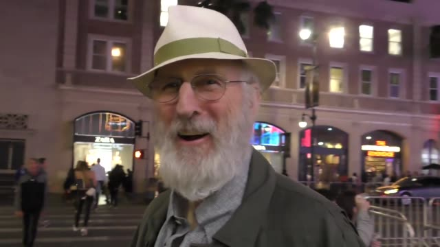 INTERVIEW James Cromwell talks about who plays a better president him or Donald Trump outside TCL Chinese Theatre in Hollywood in Celebrity Sightings...
