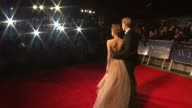 James D'Arcy and Andrea Riseborough at the WE Gala Premiere 55th BFI London Film Festival at London England