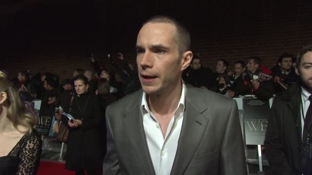 James D'Arcy on Madonna the film upcoming projects and being shoe salesman WE UK Premiere at ODEON Kensington on January 11 2012 in London England