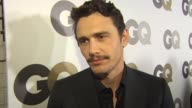 James Franco on how it feels to be named one of GQ's Men of the Year taking the redeye after the party to attend class at Yale in the morning how...