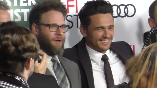 James Franco Seth Rogen outside The Disaster Artist at TCL Chinese Theatre in Hollywood in Celebrity Sightings in Los Angeles